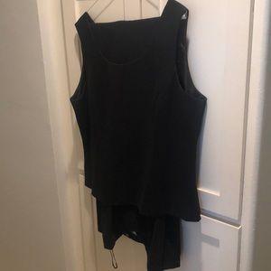 Vest and slacks size 18, black